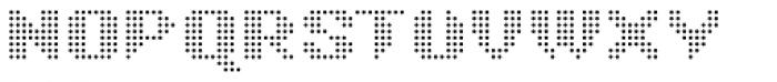 Taser Round Grey Font UPPERCASE