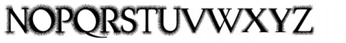 Task Hairy Font UPPERCASE