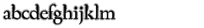 Task Hairy Font LOWERCASE