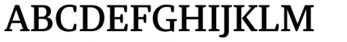 Tasman Medium Font UPPERCASE