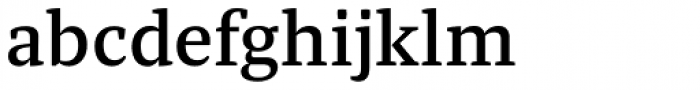 Tasman Medium Font LOWERCASE