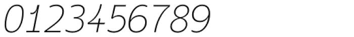 Taste ExtraLight Italic Font OTHER CHARS