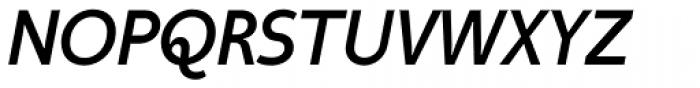 Taste Medium Italic Font UPPERCASE
