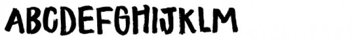 Tastebud Regular Font UPPERCASE