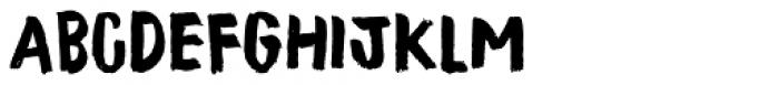Tastebud Regular Font LOWERCASE