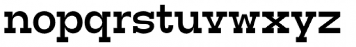 Tatline Neue Bold Font LOWERCASE