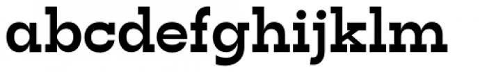 Tatline Neue Extra Bold Font LOWERCASE