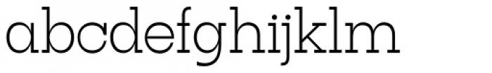Tatline Neue Extra Light Font LOWERCASE