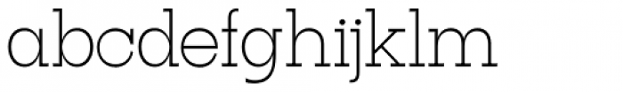 Tatline Neue Thin Font LOWERCASE