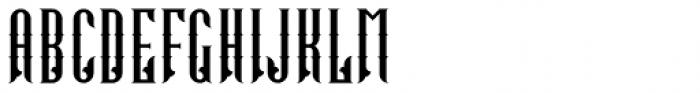 Tattoo Master Regular Font UPPERCASE