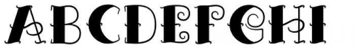 Tattooflash Marie Bold Full Font UPPERCASE