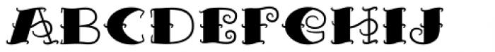 Tattooflash Marie Bold Full Font LOWERCASE