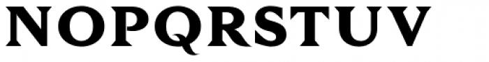 Tautz Extra Bold Font UPPERCASE