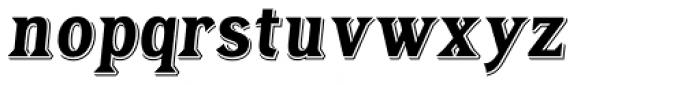 Tavern Alt Bold Italic Font LOWERCASE