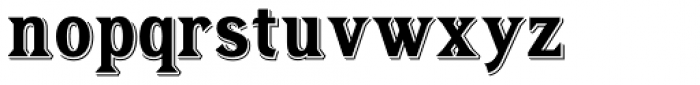 Tavern Alt Bold Font LOWERCASE