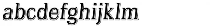 Tavern Alt Light Italic Font LOWERCASE