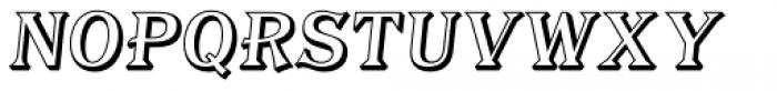 Tavern Alt Open S Italic Font LOWERCASE