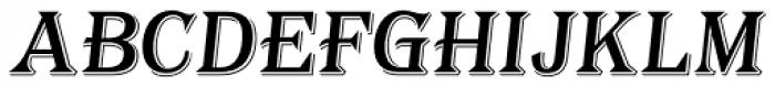 Tavern Alt S Italic Font UPPERCASE