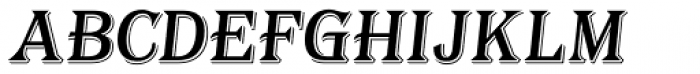 Tavern Alt S Italic Font LOWERCASE