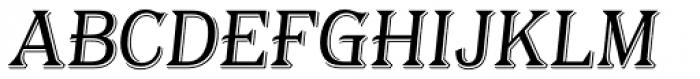 Tavern Alt S Light Italic Font UPPERCASE