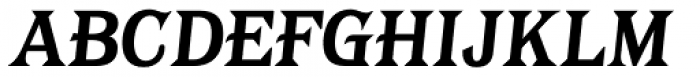 Tavern Alt X Plain Bold Italic Font UPPERCASE