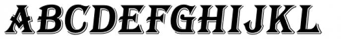 Tavern Bold Italic Font UPPERCASE