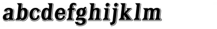 Tavern Bold Italic Font LOWERCASE