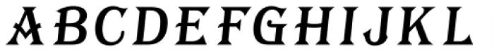 Tavern Fill SL Italic Font UPPERCASE