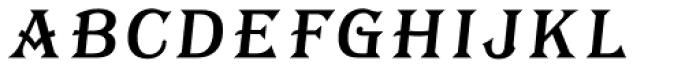 Tavern Fill SL Italic Font LOWERCASE