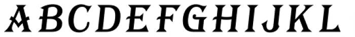 Tavern Fill XL Italic Font UPPERCASE