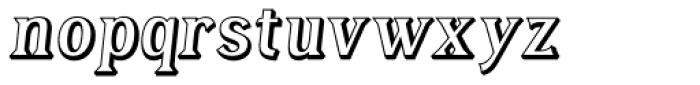 Tavern Open Italic Font LOWERCASE