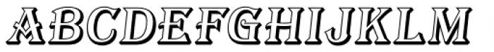 Tavern Open S Italic Font LOWERCASE