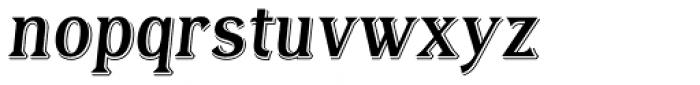 Tavern Regular Italic Font LOWERCASE
