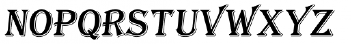 Tavern S Italic Font LOWERCASE