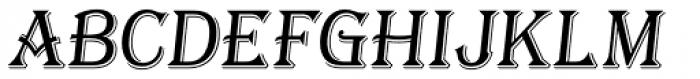 Tavern S Light Italic Font UPPERCASE