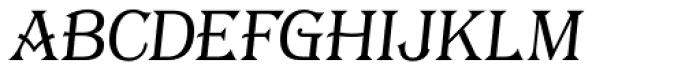 Tavern S Plain Light Italic Font LOWERCASE