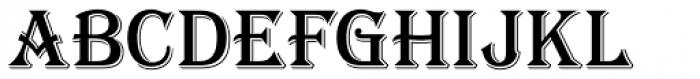 Tavern S Font UPPERCASE