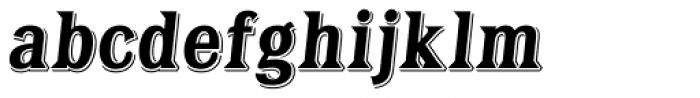 Tavern X Bold Italic Font LOWERCASE