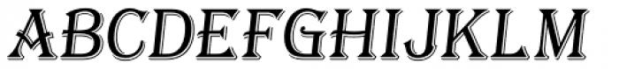 Tavern X Light Italic Font UPPERCASE