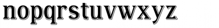 Tavern X Font LOWERCASE