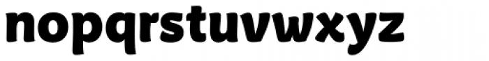 Tavolga Black Font LOWERCASE