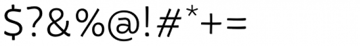 Tavolga Light Font OTHER CHARS