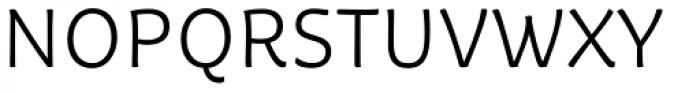Tavolga Light Font UPPERCASE