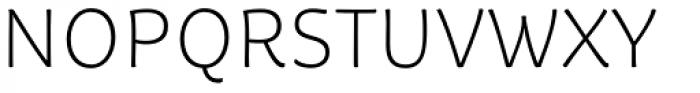 Tavolga Thin Font UPPERCASE