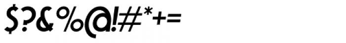 Tawakkal Sans Italic Font OTHER CHARS