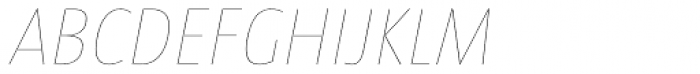 Taz H09 Italic Font UPPERCASE