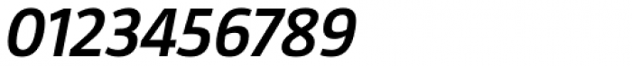 Taz SemiBold Italic Font OTHER CHARS