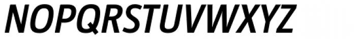 Taz SemiBold Italic Font UPPERCASE