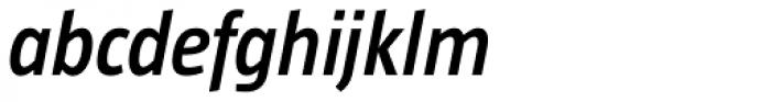 Taz SemiBold Italic Font LOWERCASE