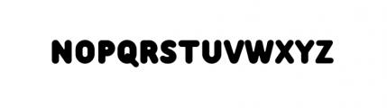 Tar Basic Black Font UPPERCASE